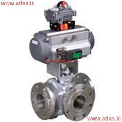 Picture of Three Way Ball Valve