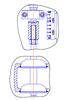 Рисунок 3 – Клапан регулирующий исполнения НЗ с МИМ