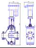 Рисунок 4 – Клапан регулирующий с МЭП