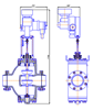 Рисунок 5 – Клапан регулирующий с МЭПК