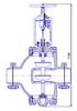Рисунок 6 – Клапан регулирующий с РП
