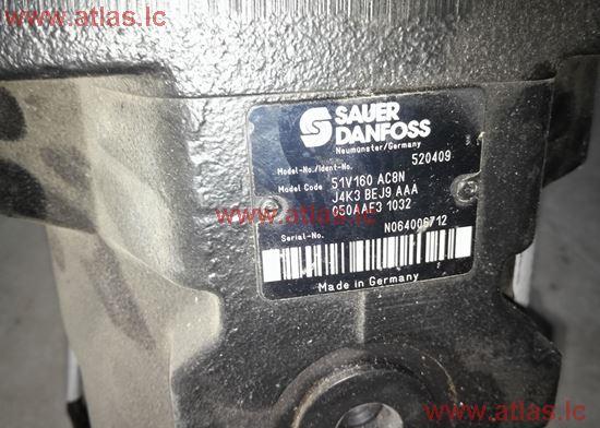 Ступень управляющая для гидравлического мотора SAUER 51V160  262100010K02SPR